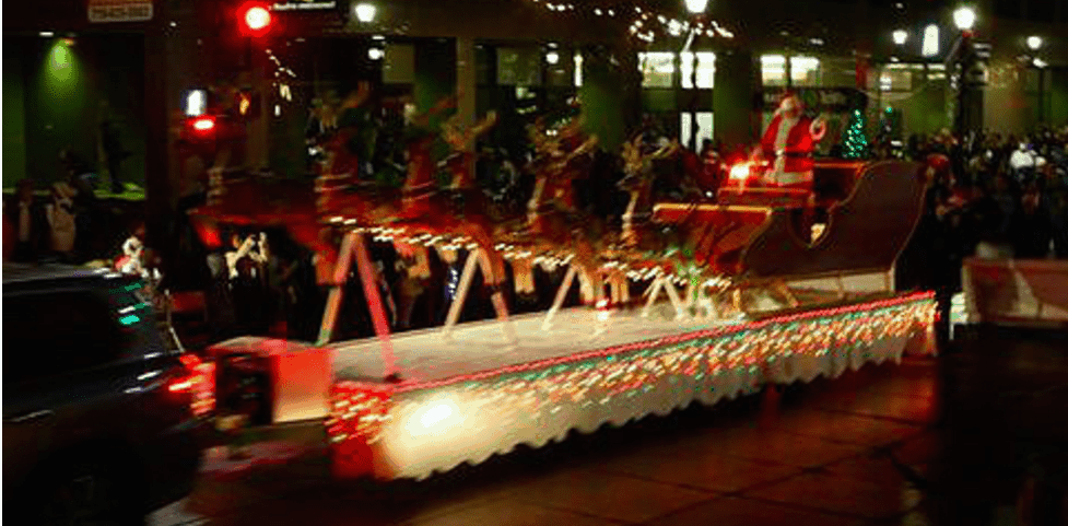Colorado Springs Festival of Lights Parade