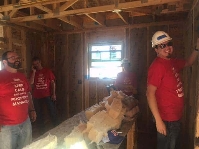 All Seasons Provides Habitat for Humanity Volunteers