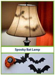 Spooky Bat Lamp